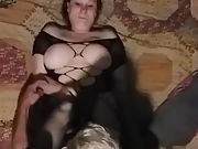 Red haired wife fucking spouses thick dick