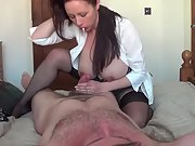Buxom wife hj and riding cowgirl