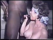 Humungous tit mummy worships a gigantic dark boner