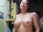 Spectacular japanese with massive inborn tits suck penetrate and guzzle