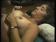 Michelle being tittie poked then takes a meaty fountain of semen