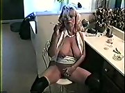 Hot blondie milf orders you to conform her