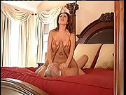 Rich older guy pervert fucking a hot big-chested mom who cleans palace