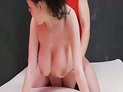 Big all-natural boob amateur trying buttfuck sex expecting to make a fine sex-tape